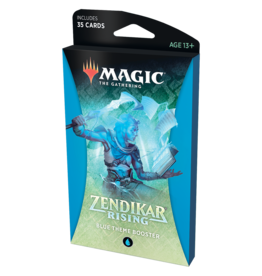 Magic: The Gathering MTG ZNR Theme Booster Pack: Blue