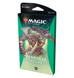 Magic: The Gathering MTG ZNR Theme Booster Pack: Green