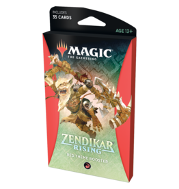 Magic: The Gathering MTG ZNR Theme Booster Pack: Red