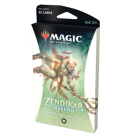Magic: The Gathering MTG ZNR Theme Booster Pack: White