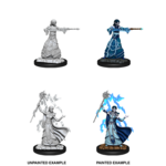 WizKids D&D Minis (unpainted) Elf Wizard (female) Wave 12, 90061