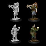 WizKids D&D Minis (unpainted): Half-Elf Bard (male)  Wave 12, 90055