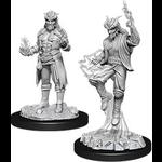 WizKids D&D Minis (unpainted): Tiefling Sorcerer (male) Wave 12, 90058