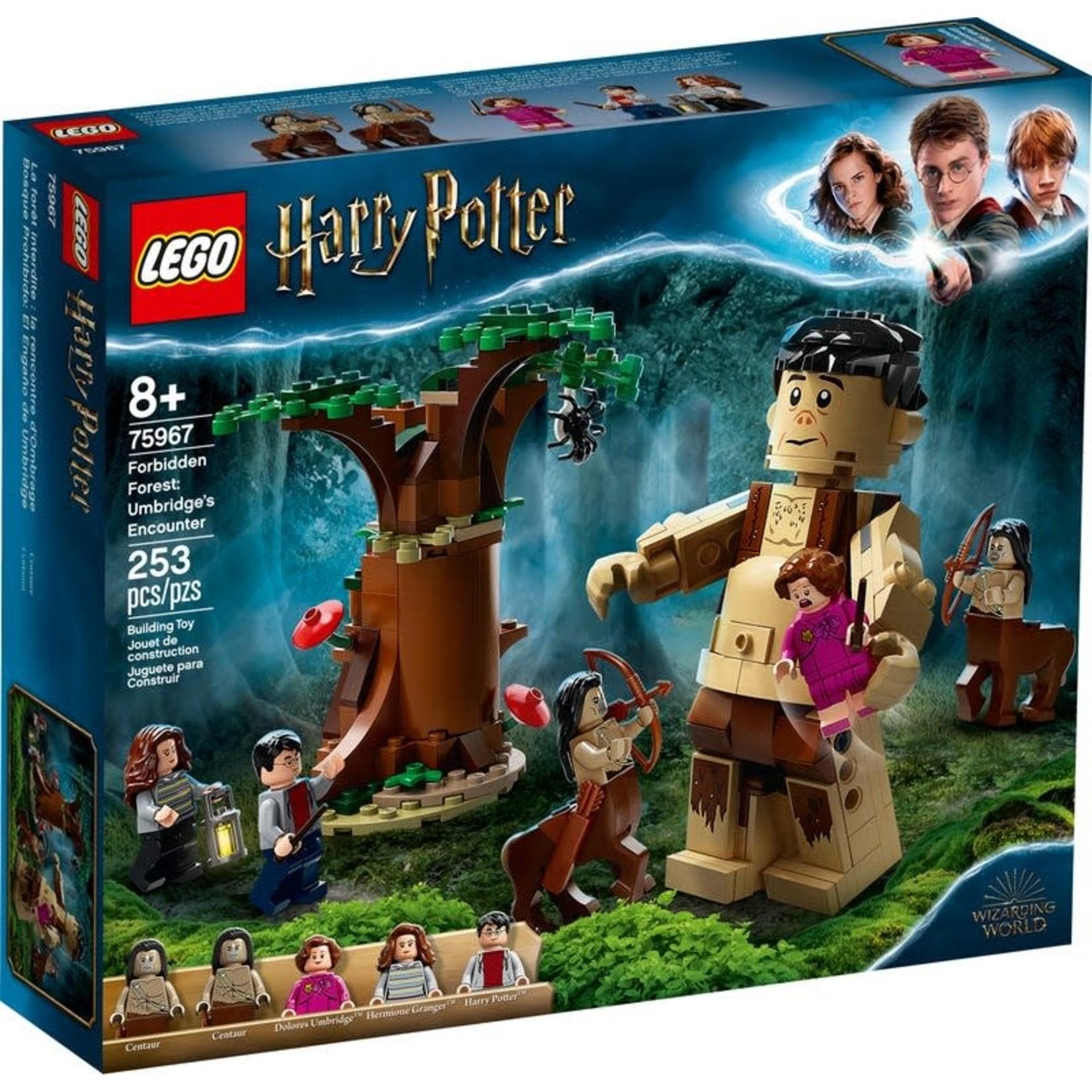 LEGO Lego Harry Potter Forbidden Forest Umbridge's Encounter
