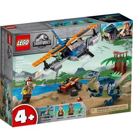 LEGO Lego Jurassic World Velociraptor Biplane Rescue Mission