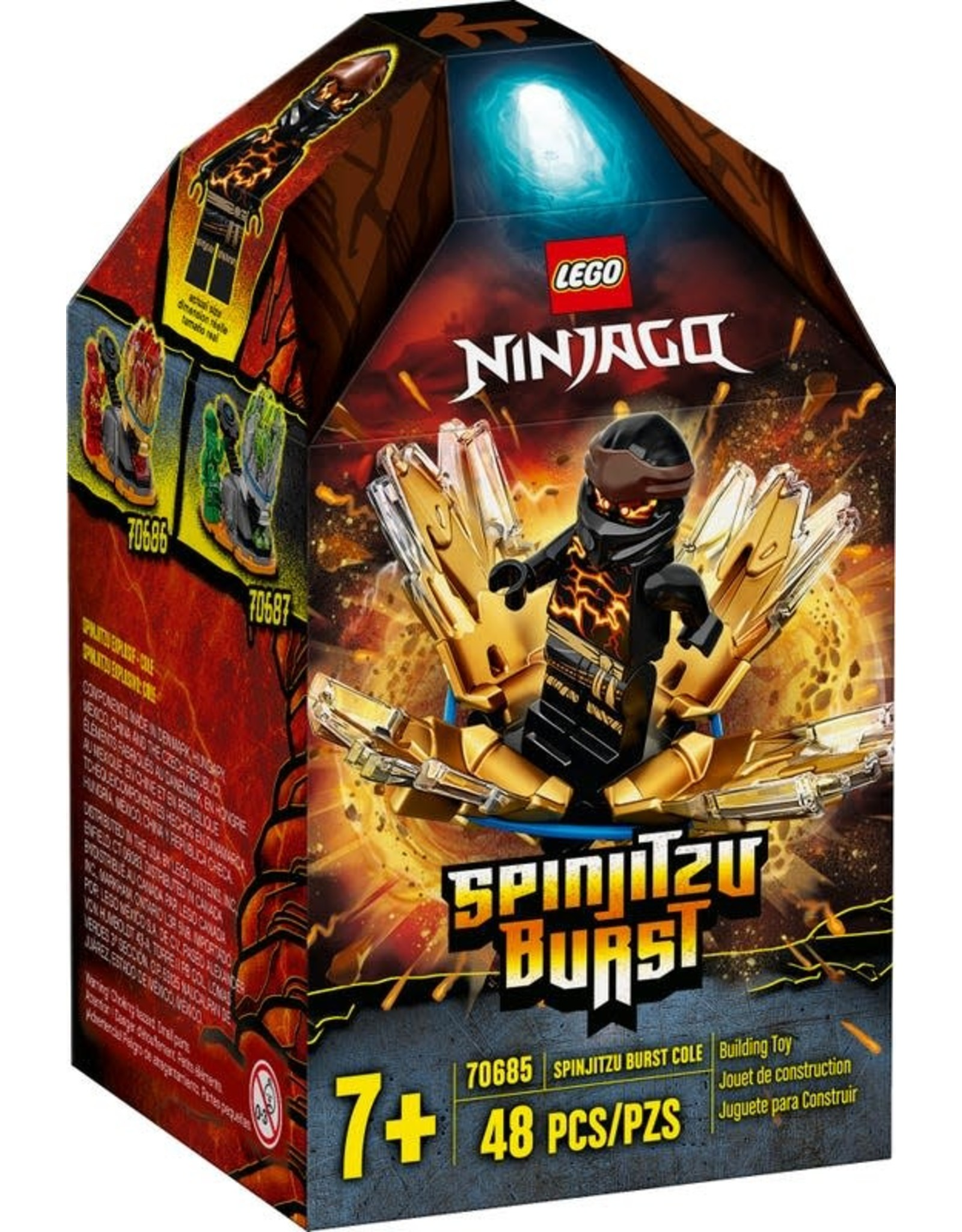 LEGO Lego Ninjago: Spinjitzu Burst - Cole