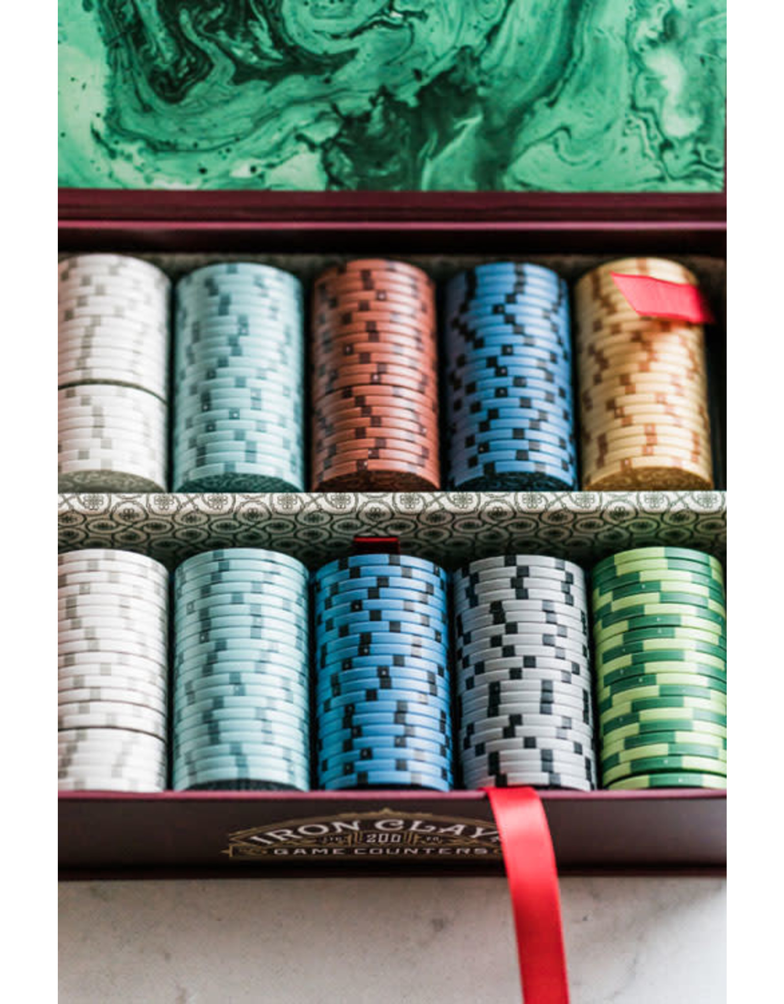 Roxley Iron Clays Poker Chips (200)