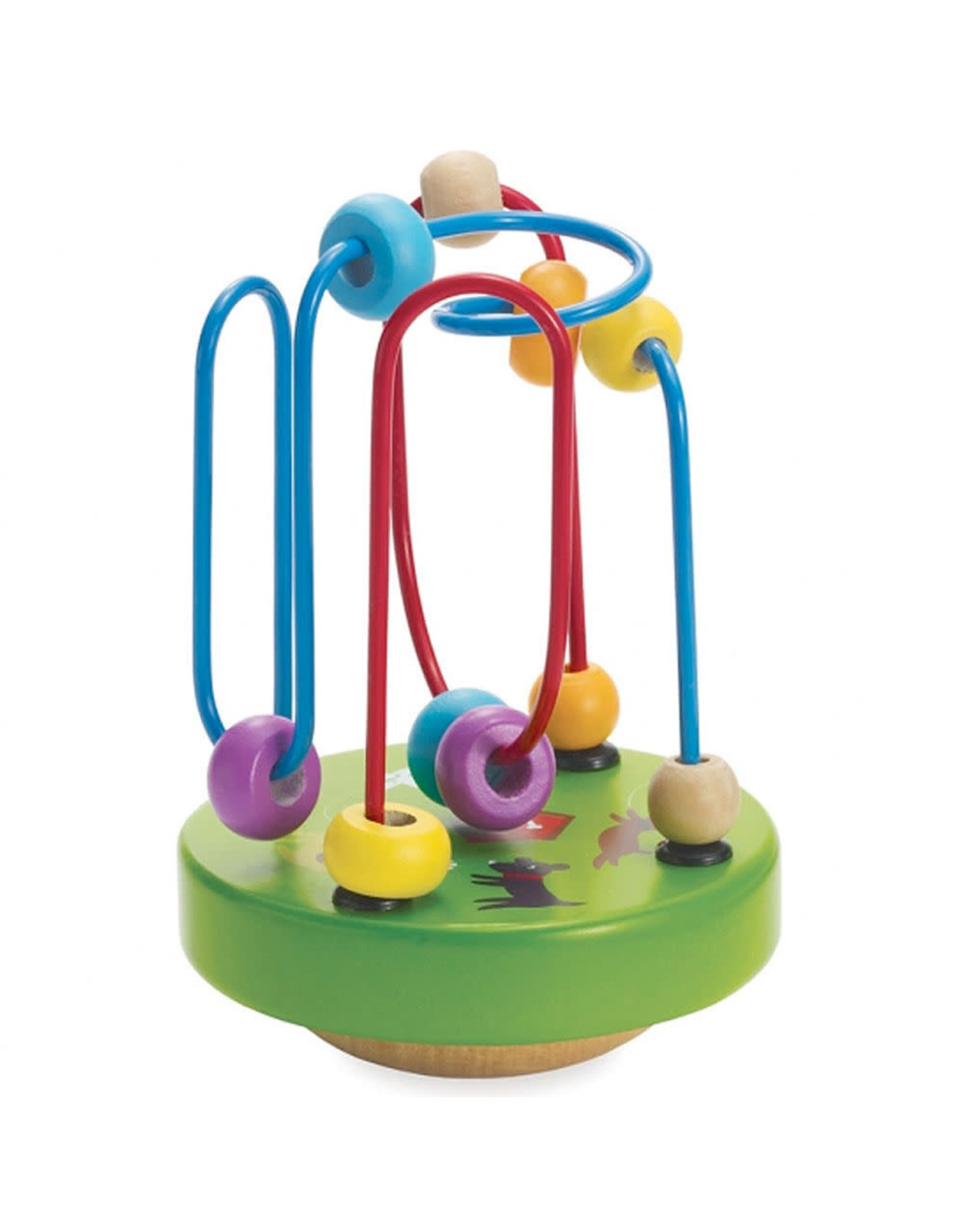 Manhattan Toy Company Wobble-A-Round Beads