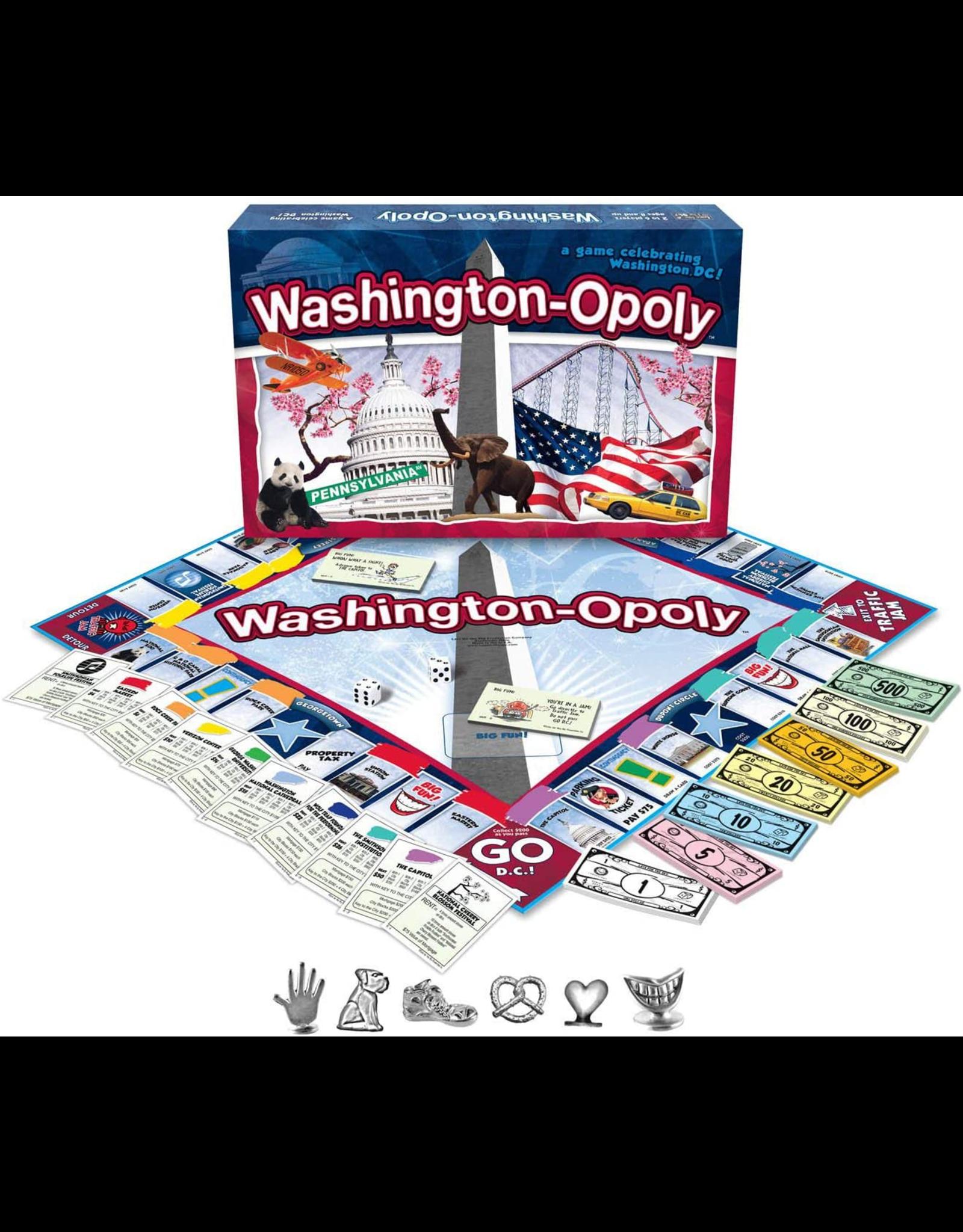Late For The Sky Washington-Opoly