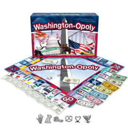 Late For The Sky Washington-Opoly