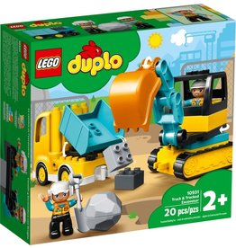 LEGO Lego Duplo: Truck & Tracked Excavator