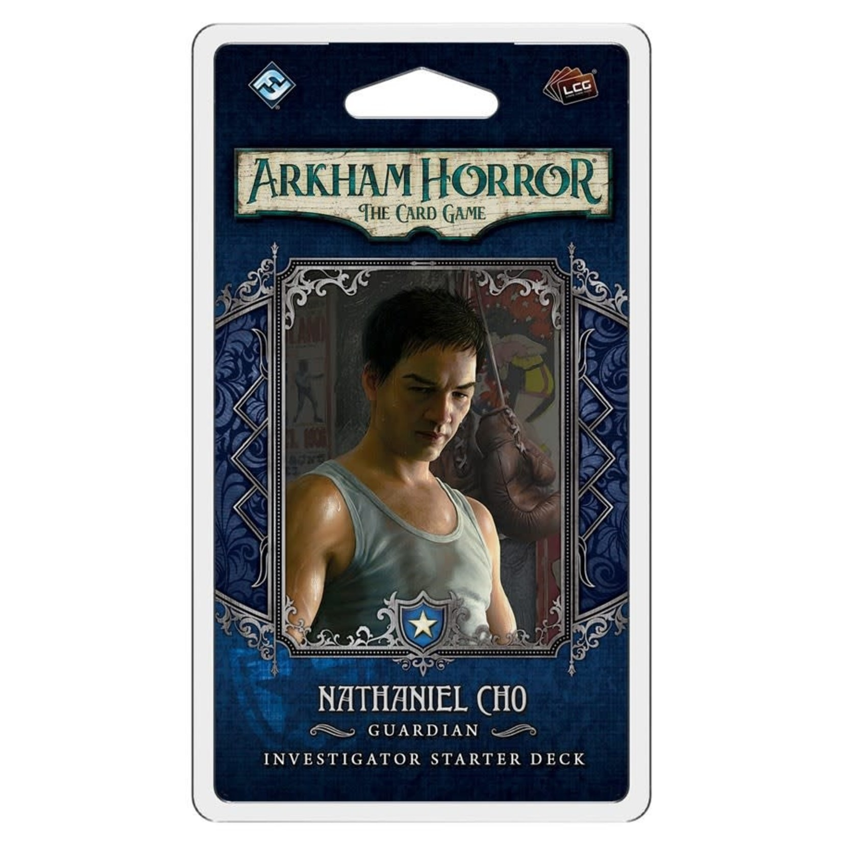 Fantasy Flight Games Arkham LCG: Nathaniel Cho Investigator Starter Deck