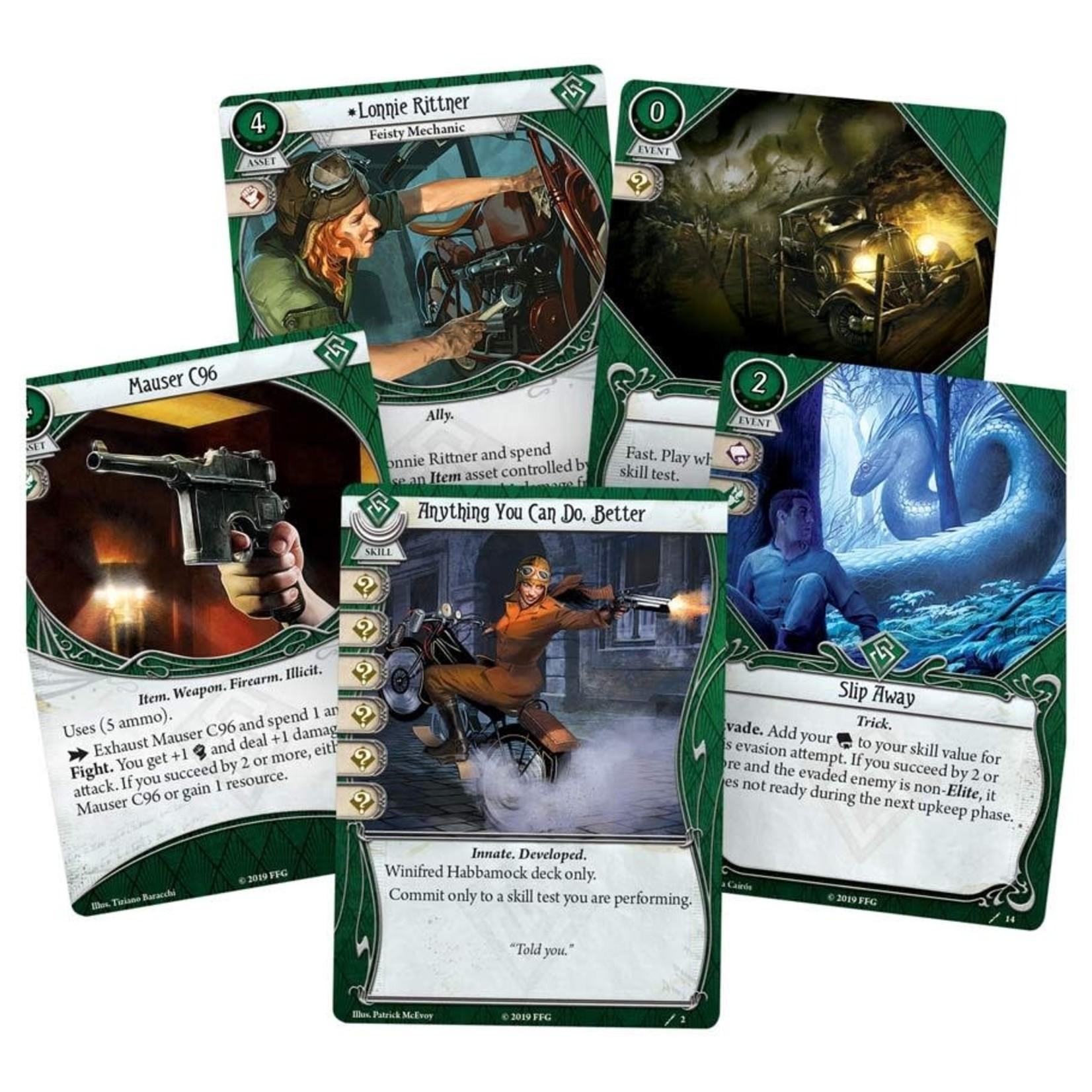 Fantasy Flight Games Arkham LCG: Winifred Habbamock Investigator Starter Deck