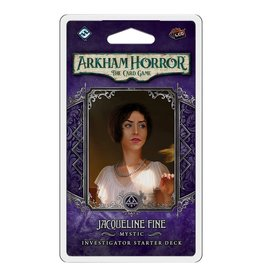 Fantasy Flight Games Arkham LCG: Jacqueline Fine Investigator Starter Deck