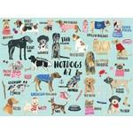 Mudpuppy Hot Dogs A-Z - 1000 Piece Jigsaw Puzzle