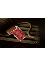 theory11 Theory 11 Cards Monarch Red
