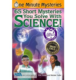 Science, Naturally! One Minute Mysteries: 65 Short Mysteries - Science