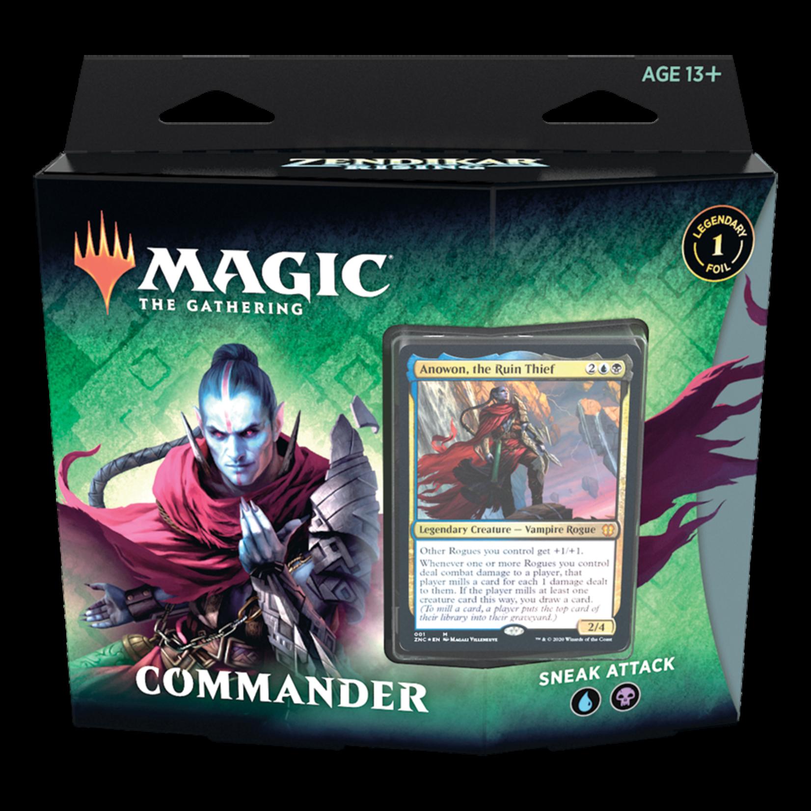 Magic: The Gathering Magic: The Gathering - Zendikar Rising Commander Deck: Sneak Attack