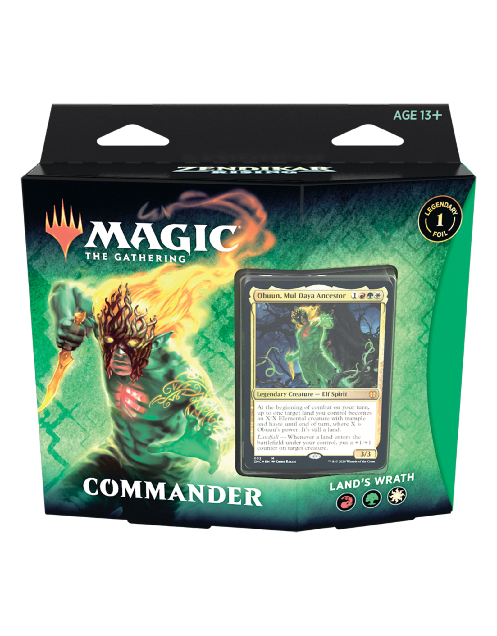 Magic: The Gathering Zendikar Rising Commander Deck: Land's Wrath