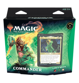 Magic: The Gathering MTG ZNC Commander Deck: Land's Wrath