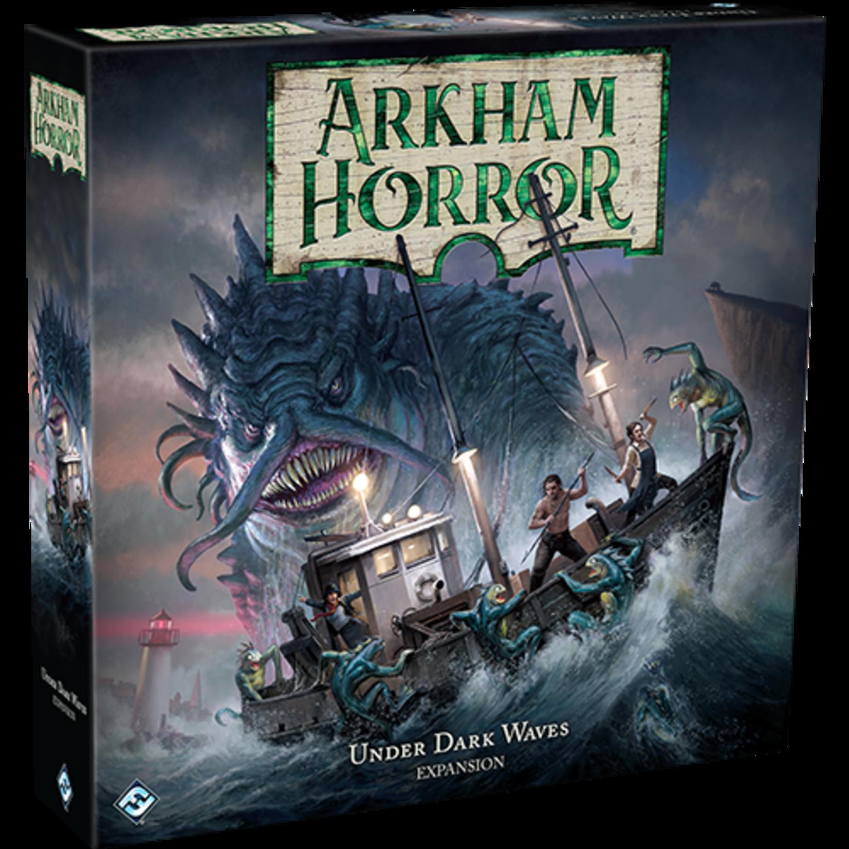 Fantasy Flight Games Arkham Horror: Under Dark Waves Expansion