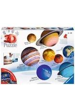 Ravensburger Solar System 3D Puzzle Set 27p/54p/72p
