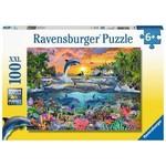 Ravensburger Tropical Paradise 100 - Piece jigsaw puzzle