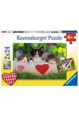 Ravensburger Sleepy Kittens Double Sided 24p