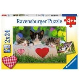 Ravensburger Sleepy Kittens Double Sided 24p