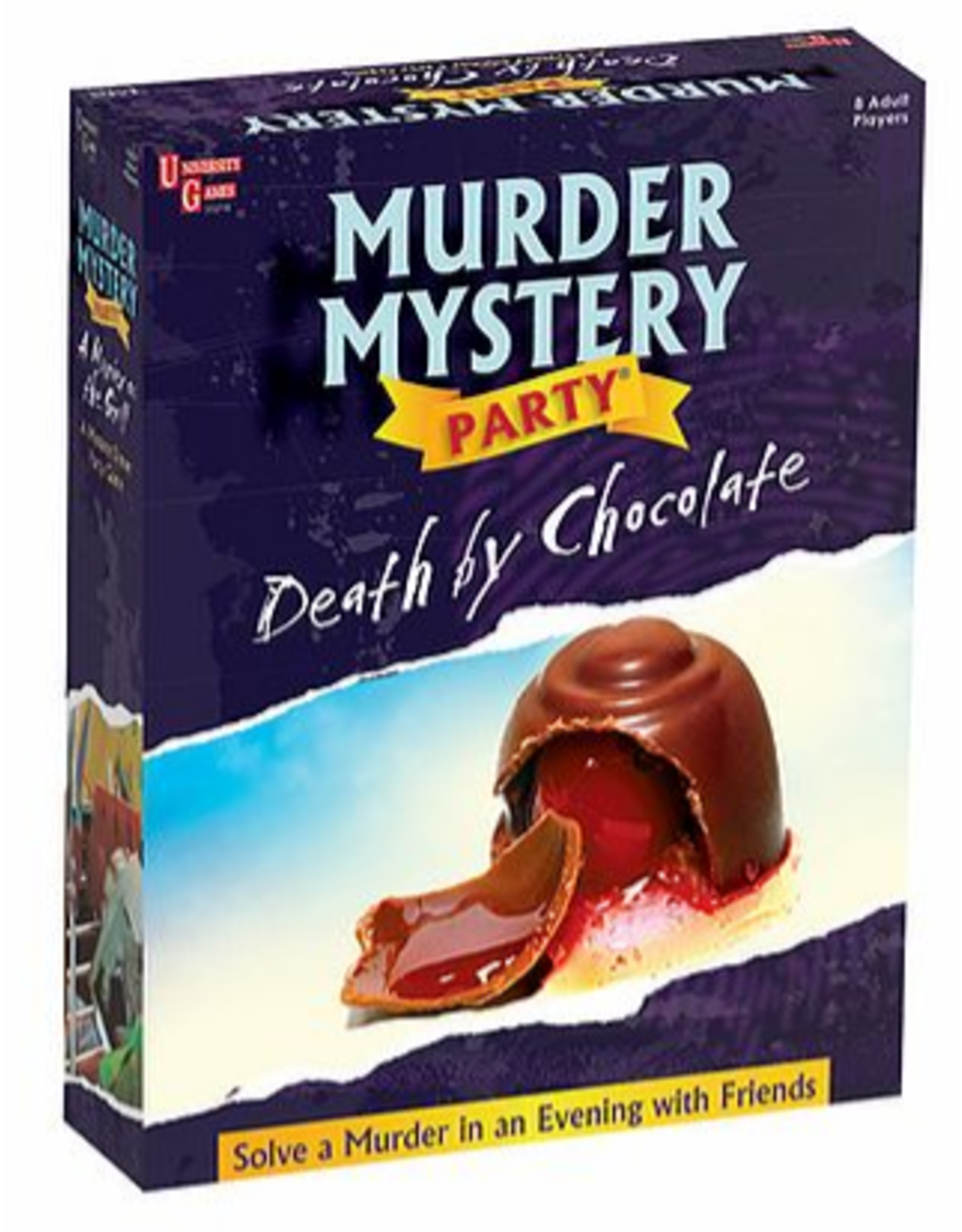University Games Murder Mystery Party: Death by Chocolate