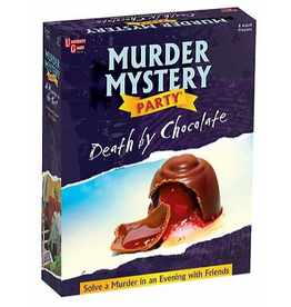 University Games Murder Mystery: Death by Chocolate