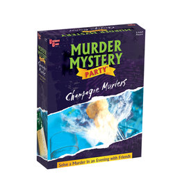 University Games Murder Mystery: The Champagne Murders
