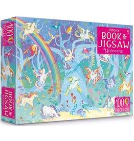 Usborne Book & Jigsaw Unicorn - 100 Piece Jigsaw Puzzle