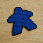 G-Wiz Blue Meeple Player Patch