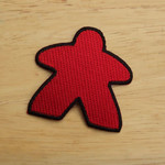 G-Wiz Red Meeple Player Patch