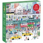 Galison New York City Subway by Michael Storrings 500 - Piece Jigsaw Puzzle