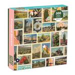 Galison Painted Desert by Amy Peppler Adams 500 - Piece jigsaw puzzle