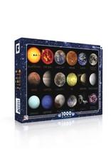 New York Puzzle Company NASA Solar System 1000p