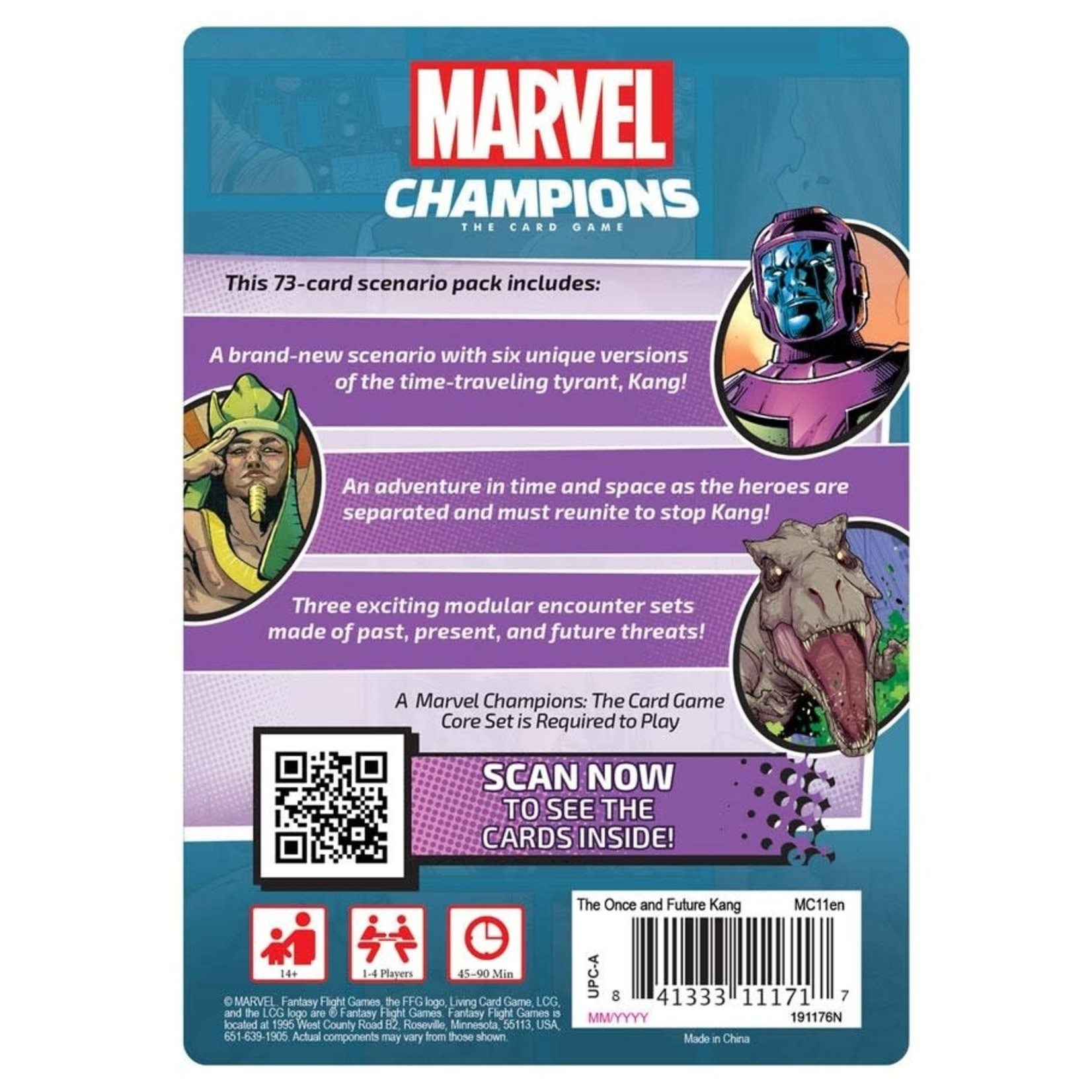 Fantasy Flight Games Marvel Champions: The Card Game: The Once and Future Kang