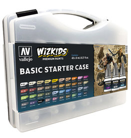 Vallejo Paint Case Basic Starter Colors (WizKids)