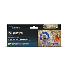 Vallejo Paint Set Arcane Elements (WizKids)