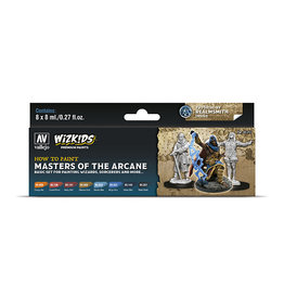 Vallejo Paint Set Masters of the Arcane (WizKids)