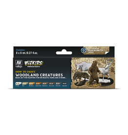 Vallejo Paint Set Woodland Creatures (WizKids)