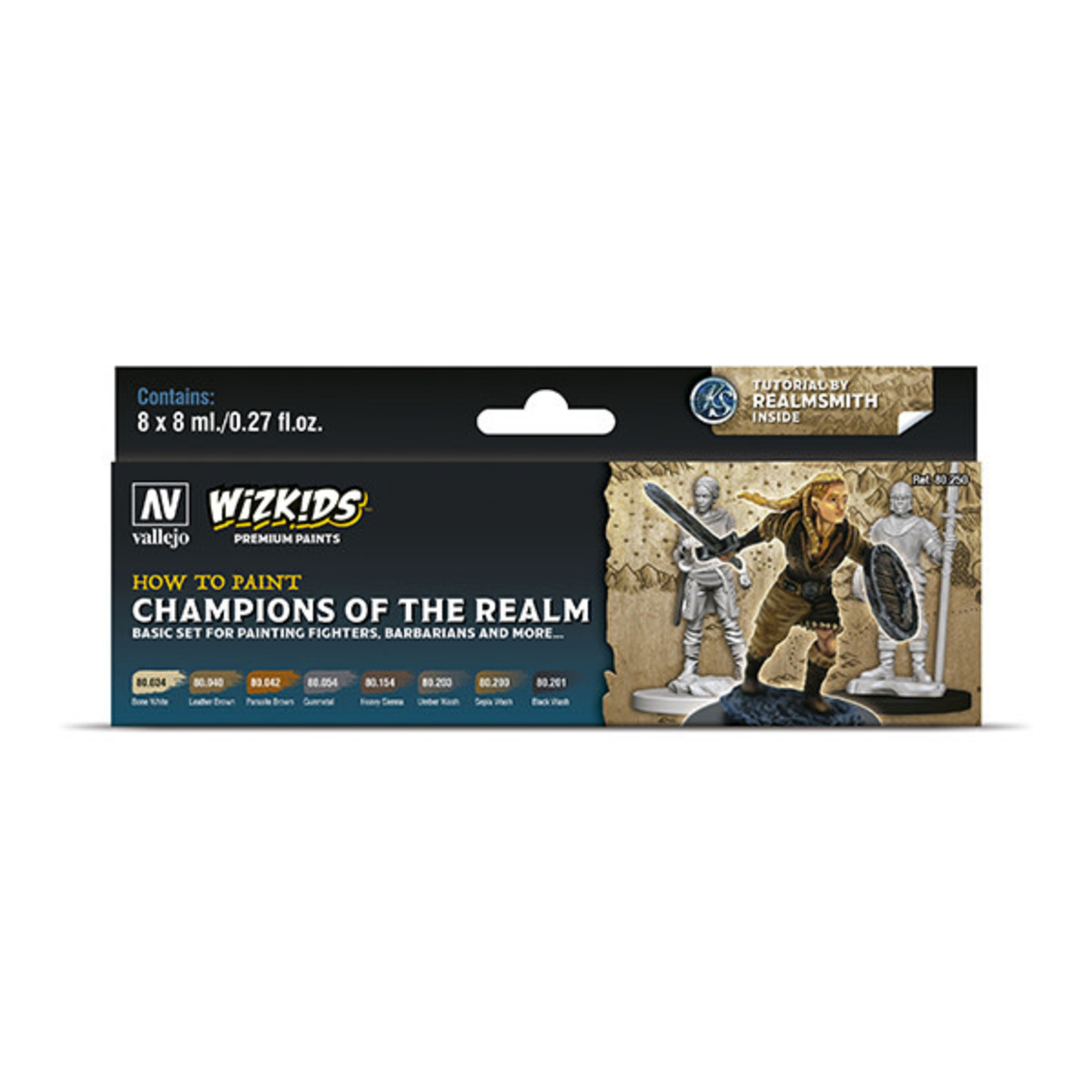 Vallejo Paint Set Champions of the Realm (WizKids)