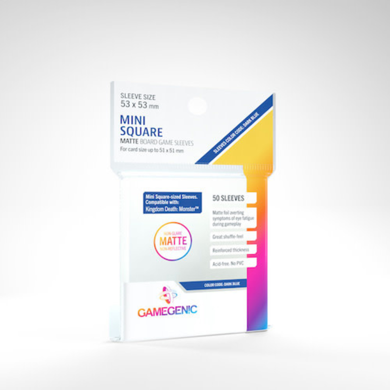 Gamegenic Deck Protectors: Mini-Square Matte GameGenic (50)