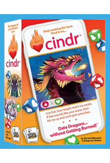 Smirk & Laughter Games Cindr Kickstarter Bundle with Playmat and Dice Tray