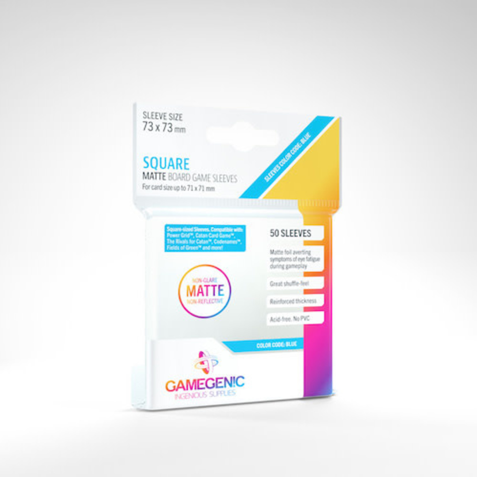 Gamegenic Deck Protectors: Square Matte GameGenic (50)