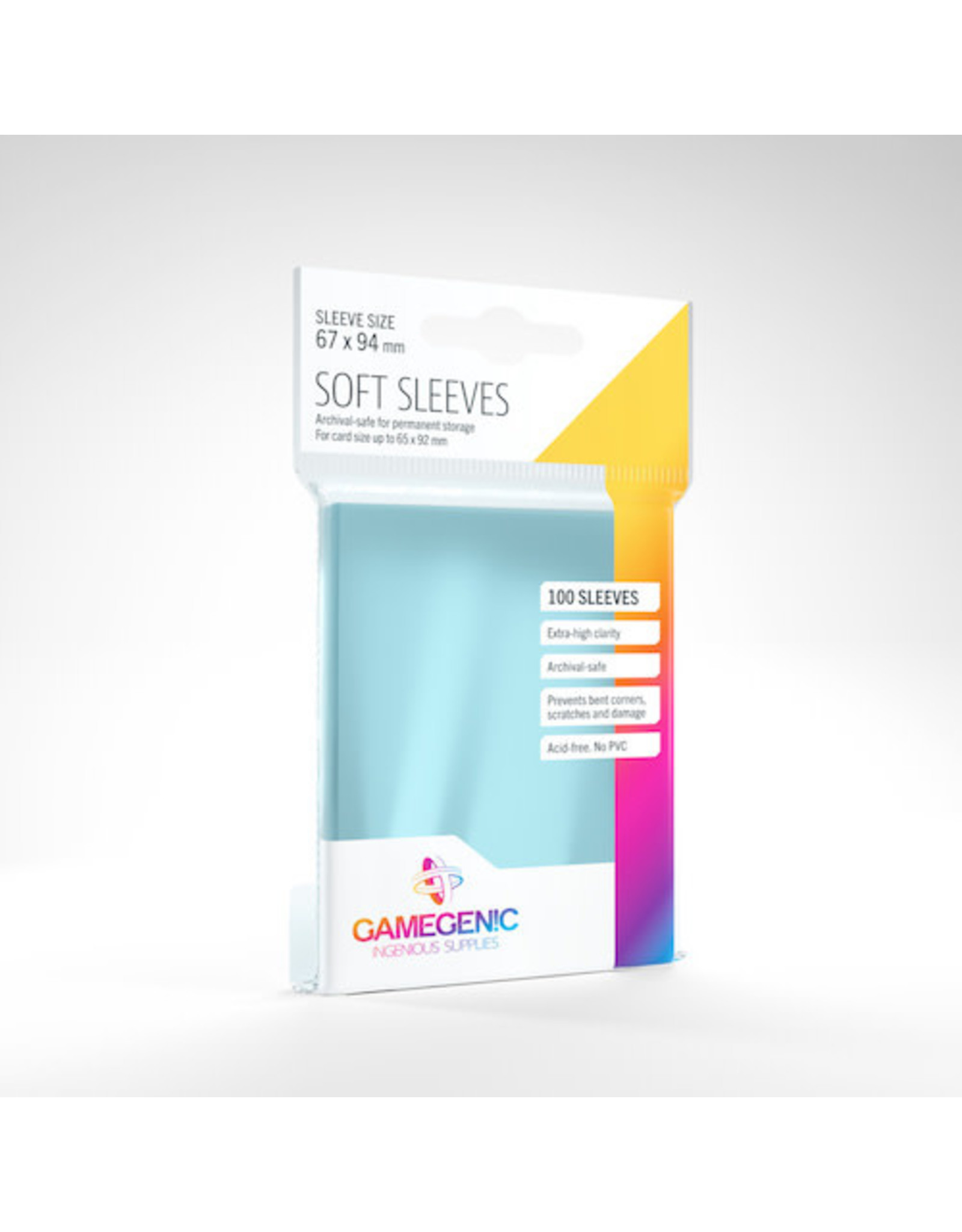 GameGenic Deck Protectors: Standard Card Game Soft Gamegenic (100)