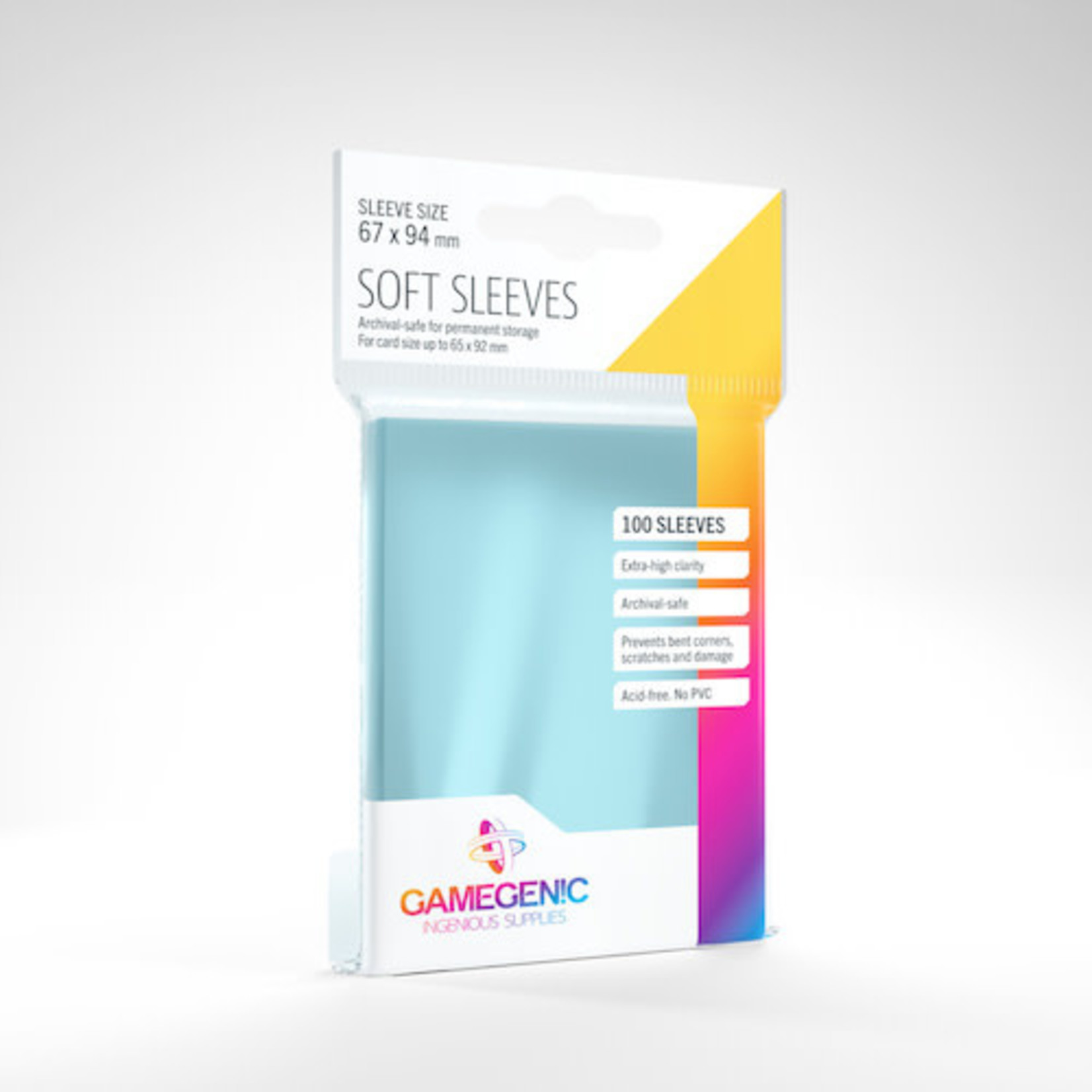 Gamegenic Deck Protectors: Standard Card Game Soft Gamegenic (100)