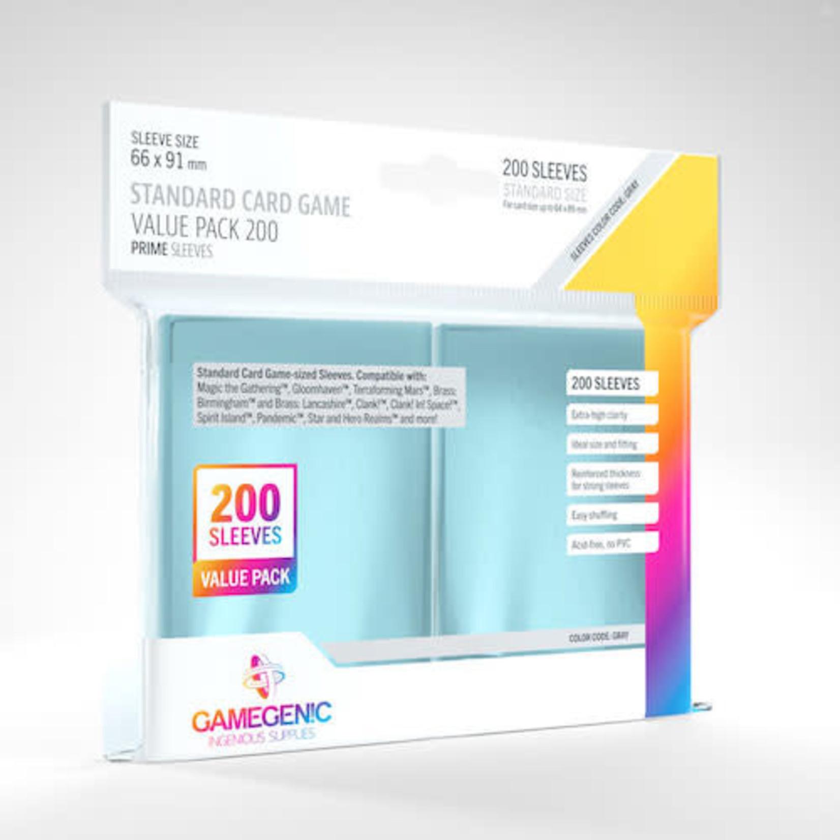 Gamegenic Deck Protectors: Clear Gamegenic (200)